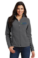 Full Zip Gray Fleece