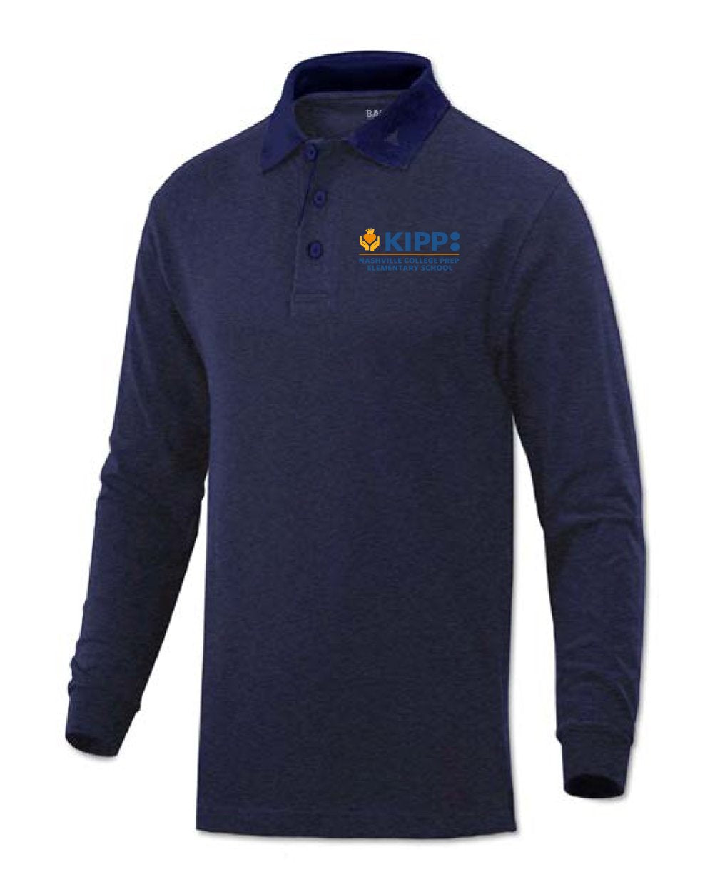 Long Sleeve Kindergarten Polo