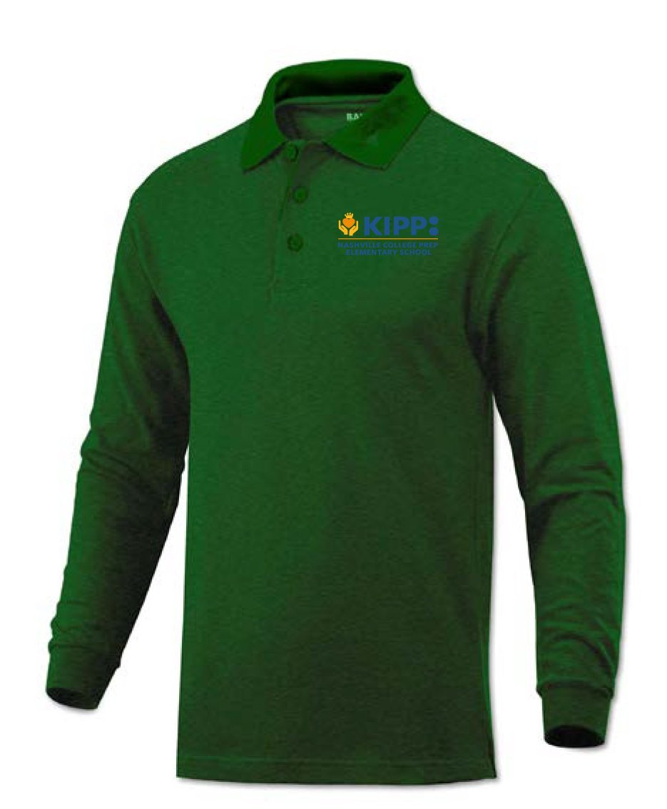 Long Sleeve 2nd Grade Polo