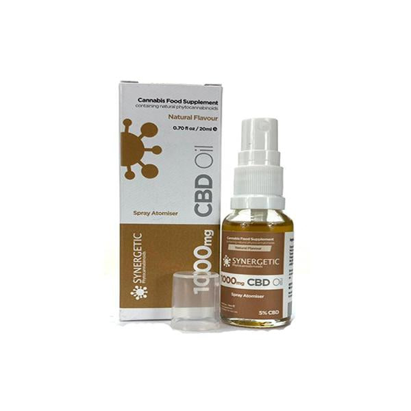 Synergetic 1000MG CBD Oil Spray 20ml