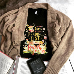 Reading List Quote T-shirt - Vellum Post