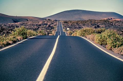 Road to Timanfaya