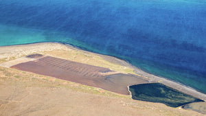 Aerial of Lanzarote