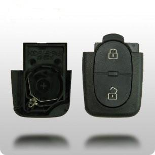 Audi 1997-2006 3 Btn Flip Key Remote (SHELL) - ZIPPY LOCKS