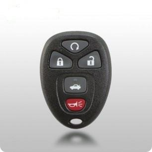 2007-2014 GM Chevrolet Buick Saturn TYPE-2 5 Btn Remote (SHELL) FCC ID: OUC60270 / OUC60221 - ZIPPY LOCKS