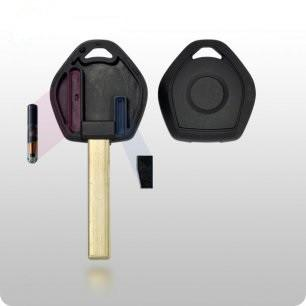 2000-2009 BMW Transponder Key SHELL - HU92 (2-Track) Style - ZIPPY LOCKS