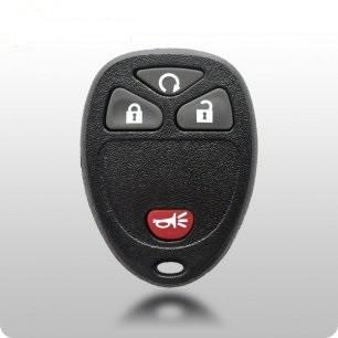 2007-2013 GM 4-Button Keyless Entry Remote With Remote Start FCC: OUC60270 - ZIPPY LOCKS