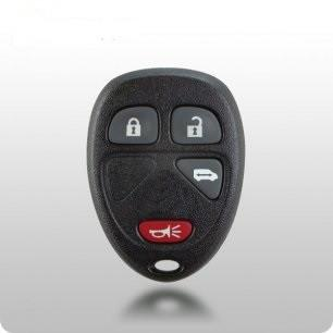 GM TYPE-2 4-Button Remote SHELL & PAD - ZIPPY LOCKS