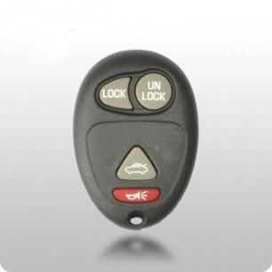 GM TYPE-3 4-Button Remote SHELL & PAD - ZIPPY LOCKS