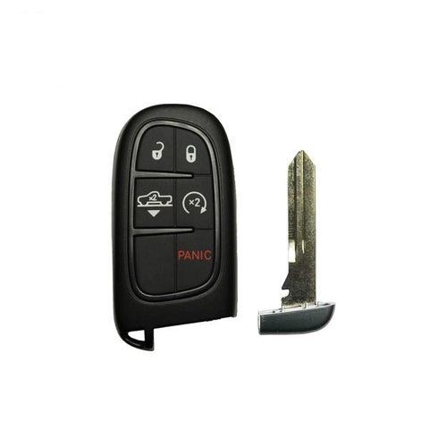 2013-2018 Dodge Ram 5-Button Proximity Smart Key – Air Suspension FCC: GQ4-54T / PN: 68159657-AB - ZIPPY LOCKS