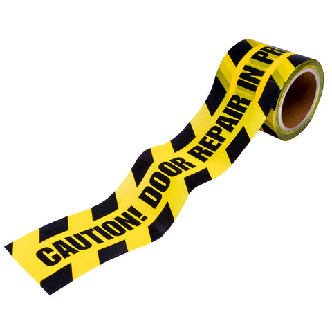 "Caution Tape - ""Door Repair In Progress"" (ACT) - ZIPPY LOCKS"