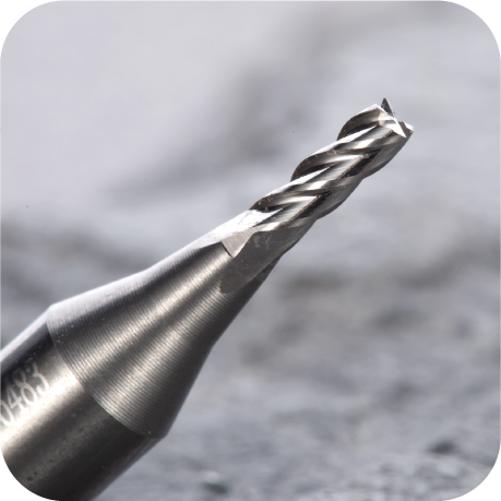 Universal Grade Carbide 1.9mm End Mill Cutter (RAISE) - ZIPPY LOCKS