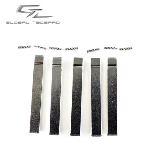 GM HU100 Flip Blade w/ Roll Pins for OEM Remotes (GTL) - ZIPPY LOCKS