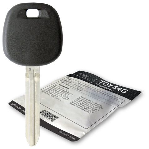 Toyota TOY44G Transponder Key (GTL) - ZIPPY LOCKS