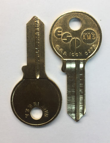 AM3 / AM6 Round Head Mechanical Key - ZIPPY LOCKS