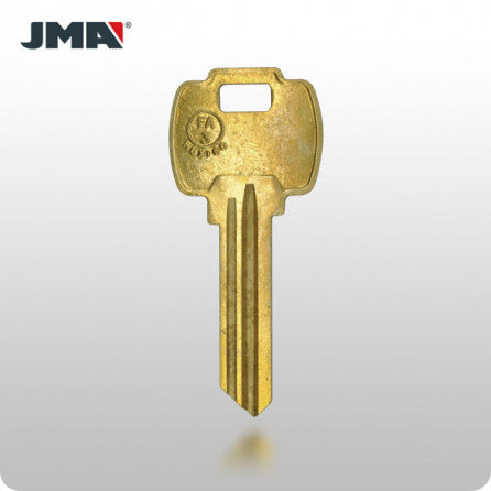FA3 / A1054WD 6-Pin Falcon Key - Brass (JMA FAL-1DE) - ZIPPY LOCKS