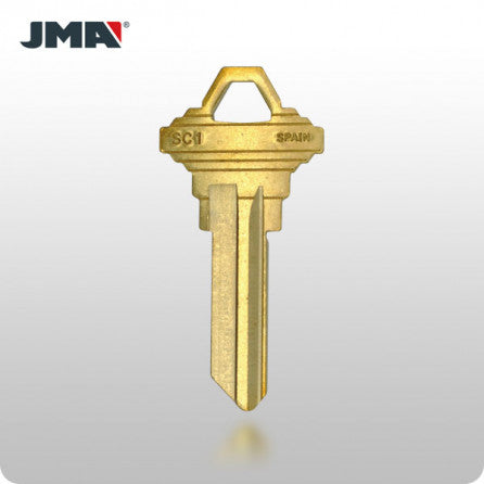 SCHLAGE / SC1 Key- Brass - ZIPPY LOCKS