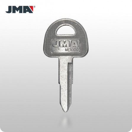 Suzuki SUZ11 / X87 Motorcycle Key (JMA SUZU-5) - ZIPPY LOCKS
