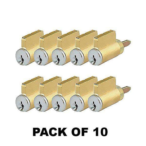 Premium Key-In-Knob (KIK) Cylinder / US26D / SC4 (Pack of 10)