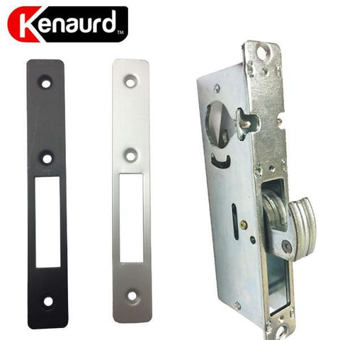 "Narrow-Stile 31/32"" Hook Bolt Lock Body - w/ 2 Faceplates"
