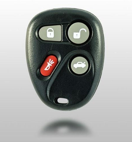 2000-2005 GMC Buick Cadillac Chevrolet Oldsmobile 4 Button Replacement Remote for FCC: KOBUT1BT - ZIPPY LOCKS