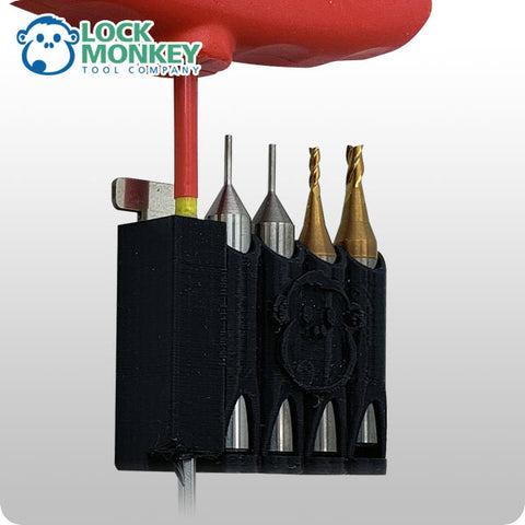 Bit & Tool Holder for Condor & Others (LOCK MONKEY) - ZIPPY LOCKS