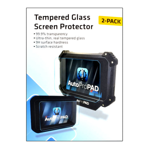 AutoProPAD LITE Tempered Glass Screen Protector - ZIPPY LOCKS