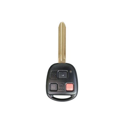 1998-2002 Toyota Land Cruiser / 3-Button Remote Head Key (4C Chip) / PN: : 89070-60090 /FCC: HYQ1512V - ZIPPY LOCKS