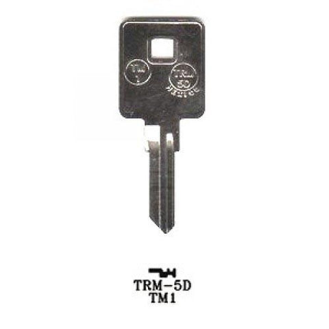 Trimark ILCO-TM1 / TRM-5D / 1601 RV KEY / JMA-TRM-5D - ZIPPY LOCKS