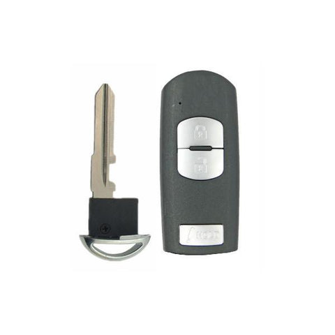 2012-2018 Mazda  / 3-Button Smart Key / PN: KD33-67-5RY / FCC: WAZSKE13DO1 - ZIPPY LOCKS