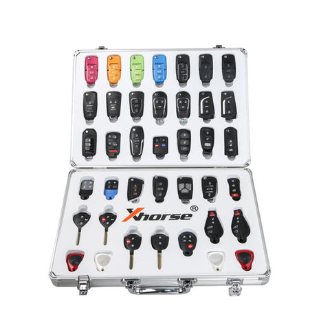 Universal Remote Key Set w/ Aluminum Case for VVDI Programming Tool - ZIPPY LOCKS