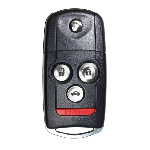 2009-2014 Acura TL, TSX 4 Btn Flip Key Remote FCC: MLBHLIK-1T - ZIPPY LOCKS