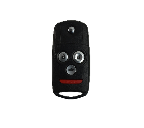 Acura 2007-2008 TL 4 Btn Flip High Security Remote Key - FCC ID: OUCG8D-439H-A - ZIPPY LOCKS