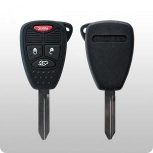 2004-2016 Chrysler / Dodge / Jeep / 4-Button Remote Head Key / FCC: OHT692427AA, KOBDT04A  / #1B - ZIPPY LOCKS