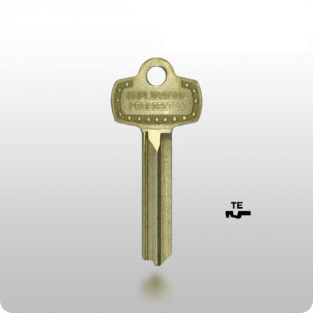 Best IC Core Keys - TE (A1114TE / 1A1TE1)—DUPL PROHIBITED - ZIPPY LOCKS
