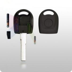 Audi / VW Transponder Key SHELL - HU66 Clam Style (GTL) - ZIPPY LOCKS