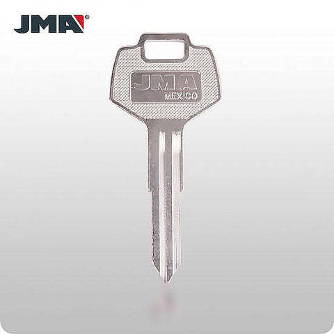 Nissan, Daewoo, Subaru DA25 / X123 Mechanical Key (JMA DAT-12) - ZIPPY LOCKS