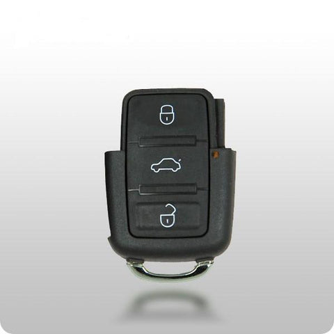 VW Jetta 2005-09 / GTI 2009-10 4-Btn Remote W/Flip Head - ZIPPY LOCKS