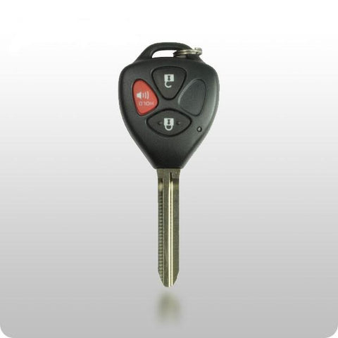 2008-2013 Toyota / G CHIP / FCC: MOZB41TG / Scion / 3-Button Remote Head Key - ZIPPY LOCKS