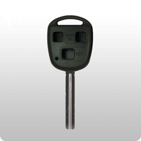 Lexus 3 Btn Remote Head Key Shell (Long HS Blade) - ZIPPY LOCKS