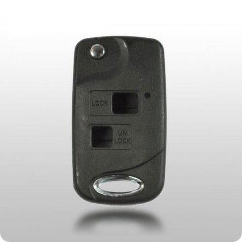 Lexus 2-Button Remote Head Key CONVERSION FLIPPY SHELL - ZIPPY LOCKS