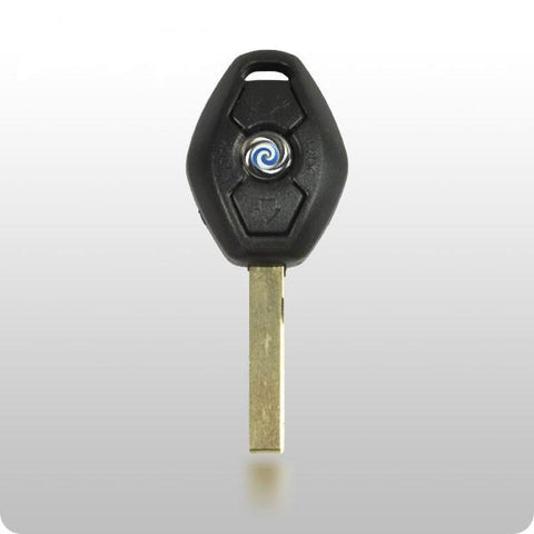 1999-2009 BMW 2 track Remote head key HU92 (EWS1) FCC ID: LX8FZV - ZIPPY LOCKS