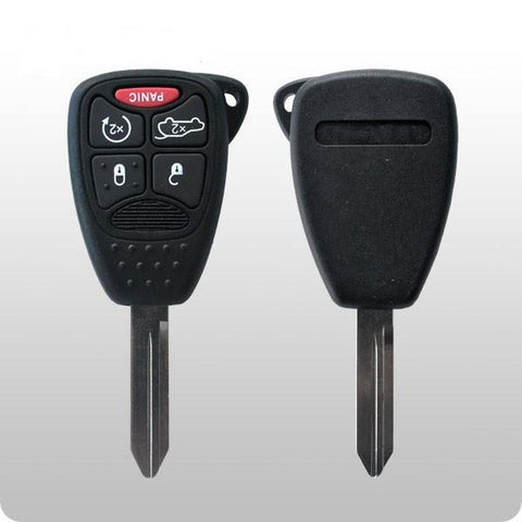 2006-2014 Chrysler / Dodge / 5-Button w/ REMOTE START /FCC: OHT692427AA, KOBDT04A / #1C - ZIPPY LOCKS
