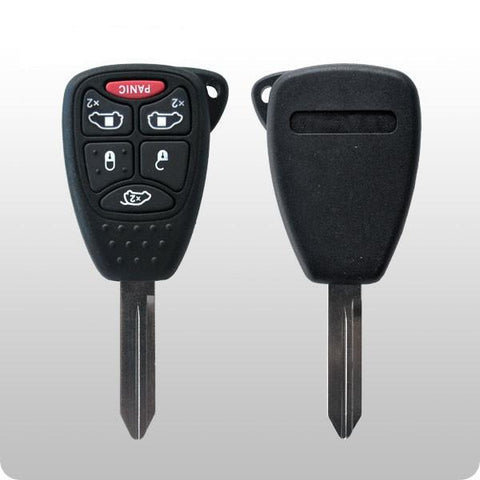 2004-2007 Chrysler, Dodge / 6-Button Remote Head Key / FCC: M3N5WY72XX / #2C - ZIPPY LOCKS