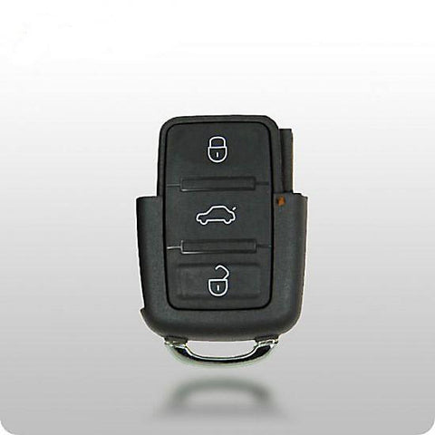 VW 3-Button Remote (753T 1998-2001) SQUARE BUTTONS (Remote Only) - ZIPPY LOCKS