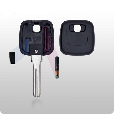 Volvo Transponder Key SHELL - S66NN-P Style - ZIPPY LOCKS