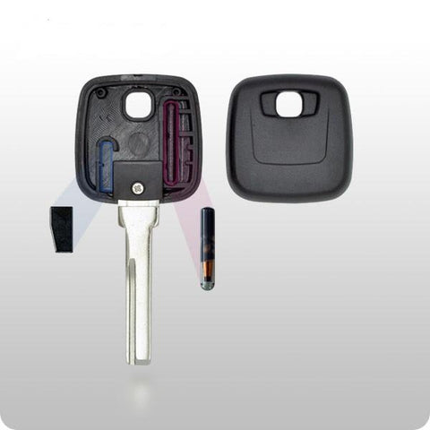 Volvo Transponder Key SHELL - HU56 Style - ZIPPY LOCKS