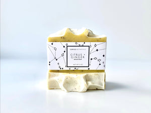 Citrus + Ginger Soap - Corvus Botanicals