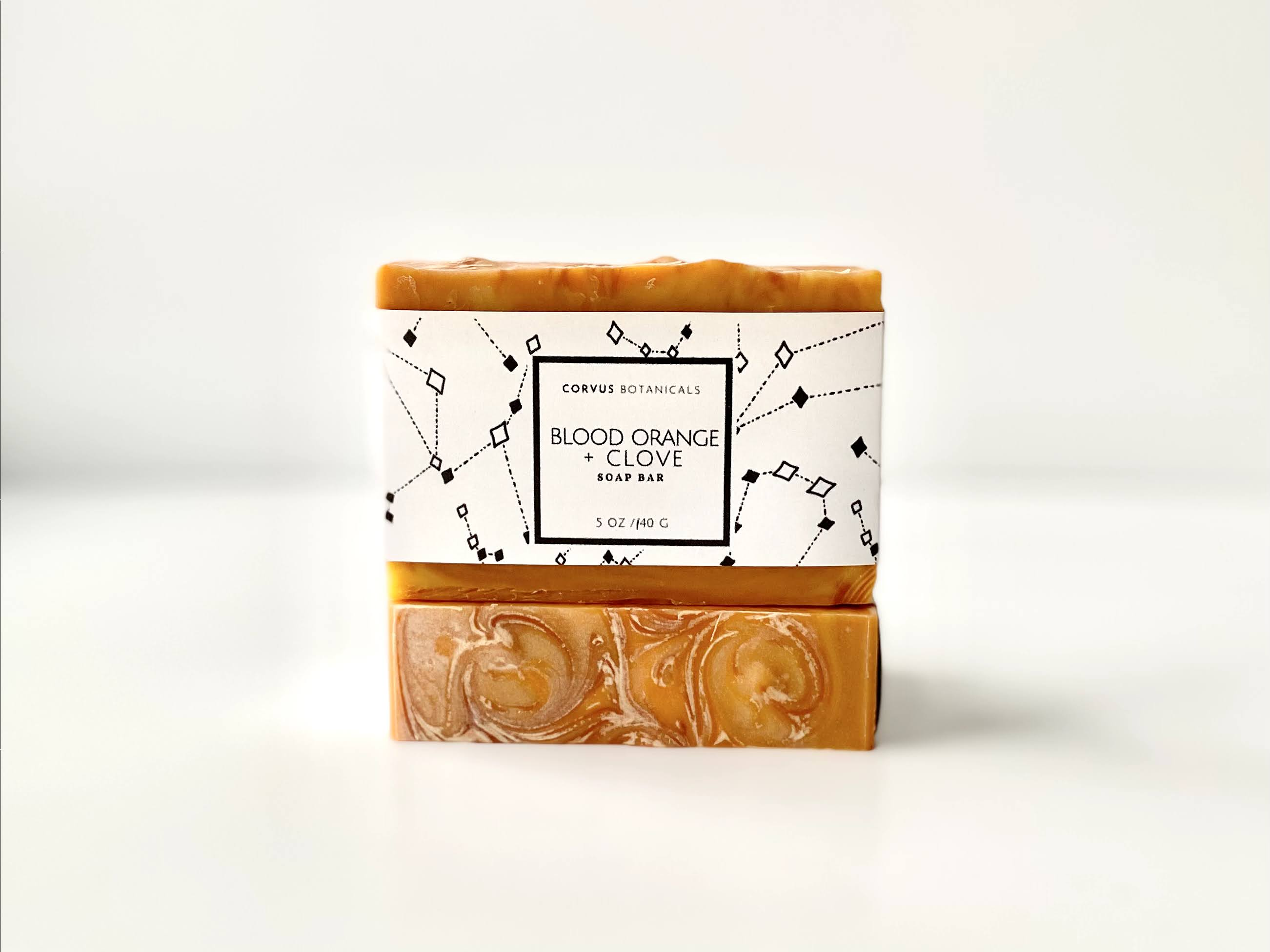 Blood Orange + Clove Soap - Corvus Botanicals
