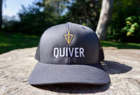 Quiver Trucker Hat - Gray